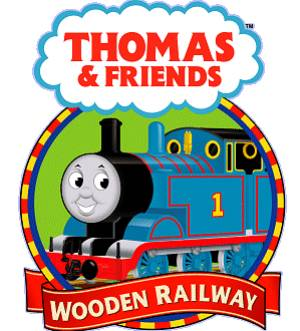 Houten treinen Thomas