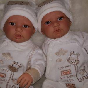 Babypoppen grote maat v.a 50 cm